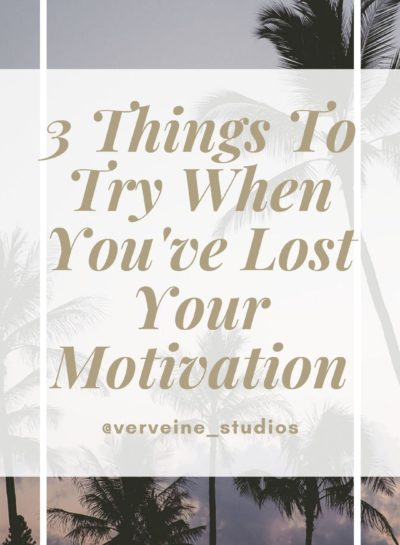 3 Things To Try When You've Lost Your Motivation – Best Boudoir Photography Toronto