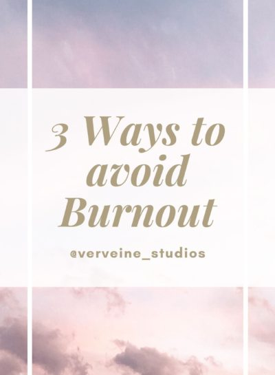 3 Ways To Avoid Burnout – Toronto Boudoir Photographers