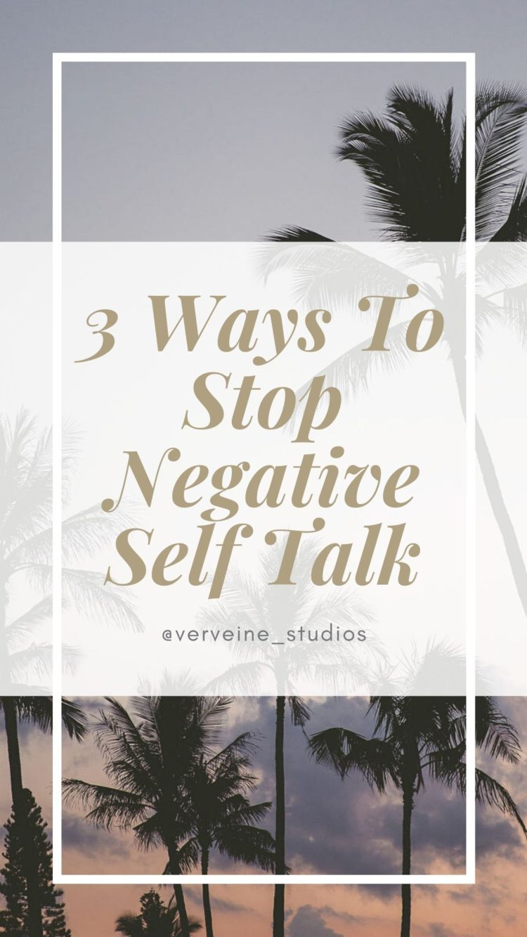 3 Ways To Stop Negative Self Talk - Toronto Boudoir Photography